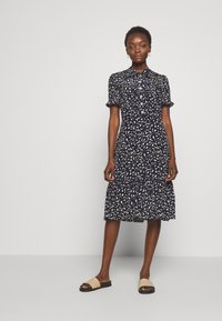 LK Bennett - DR MIA - Shirt dress - midnight/ macademia - 0