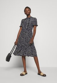 LK Bennett - DR MIA - Shirt dress - midnight/ macademia - 1