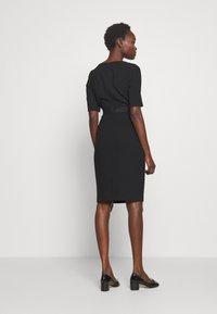 LK Bennett - DR ISLA - Shift dress - black - 2