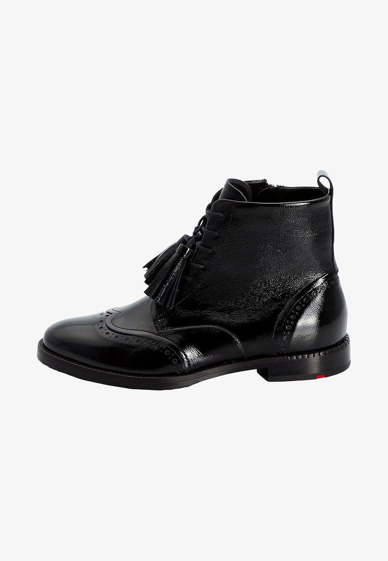 Lloyd - MIT QUASTEN - Lace-up ankle boots - black