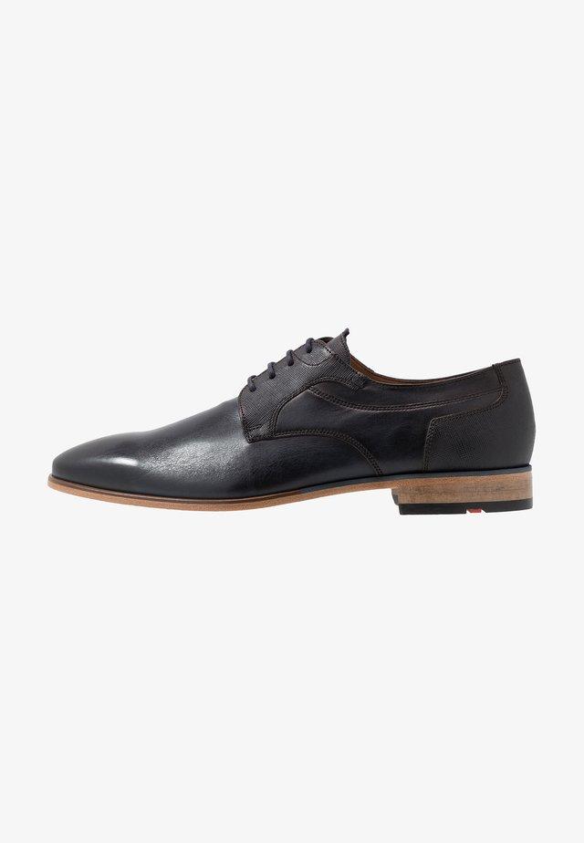 DARGUN - Elegantní šněrovací boty - ocean