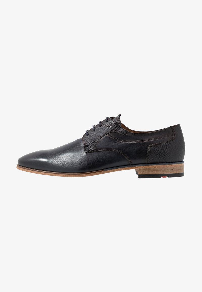Lloyd - DARGUN - Elegantní šněrovací boty - ocean