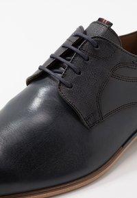 Lloyd - DARGUN - Elegantní šněrovací boty - ocean - 5