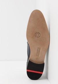 Lloyd - DARGUN - Elegantní šněrovací boty - ocean - 4
