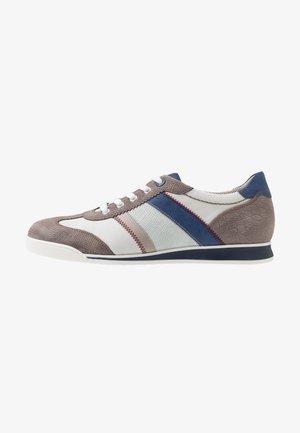 ALBION - Sneakers - stone/weiß/grey/bianco/royal