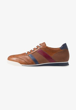 ALAIN - Trainers - caramel/royal/brandy/chianti