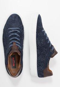 Lloyd - AJAN - Sneakersy niskie - ocean/cigar - 1