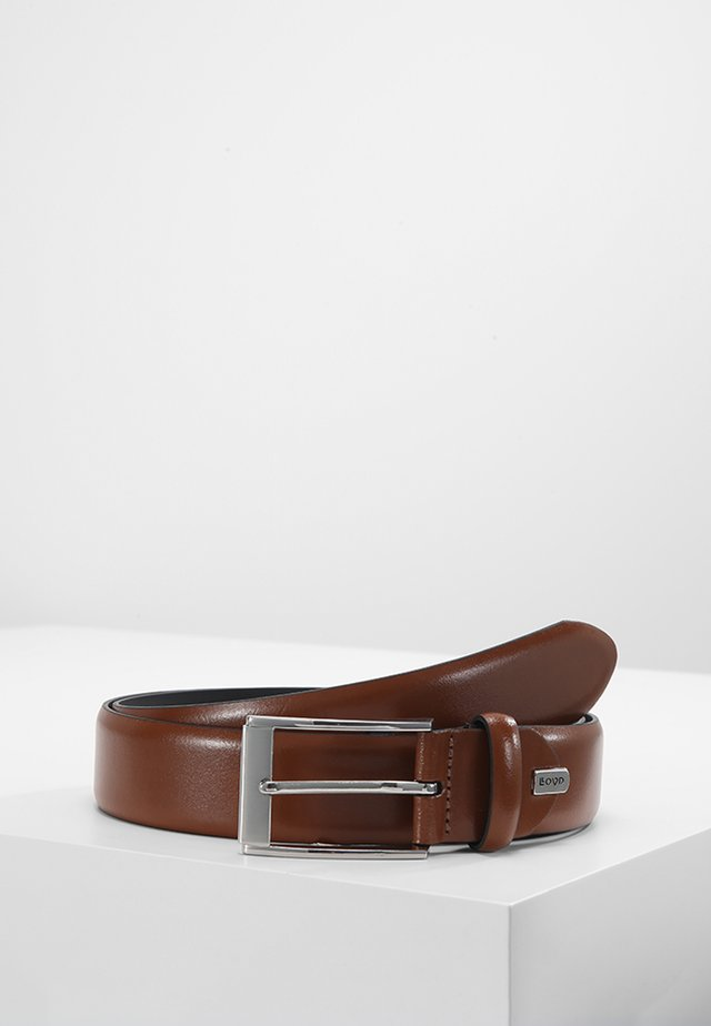 REGULAR - Belt business - cognac
