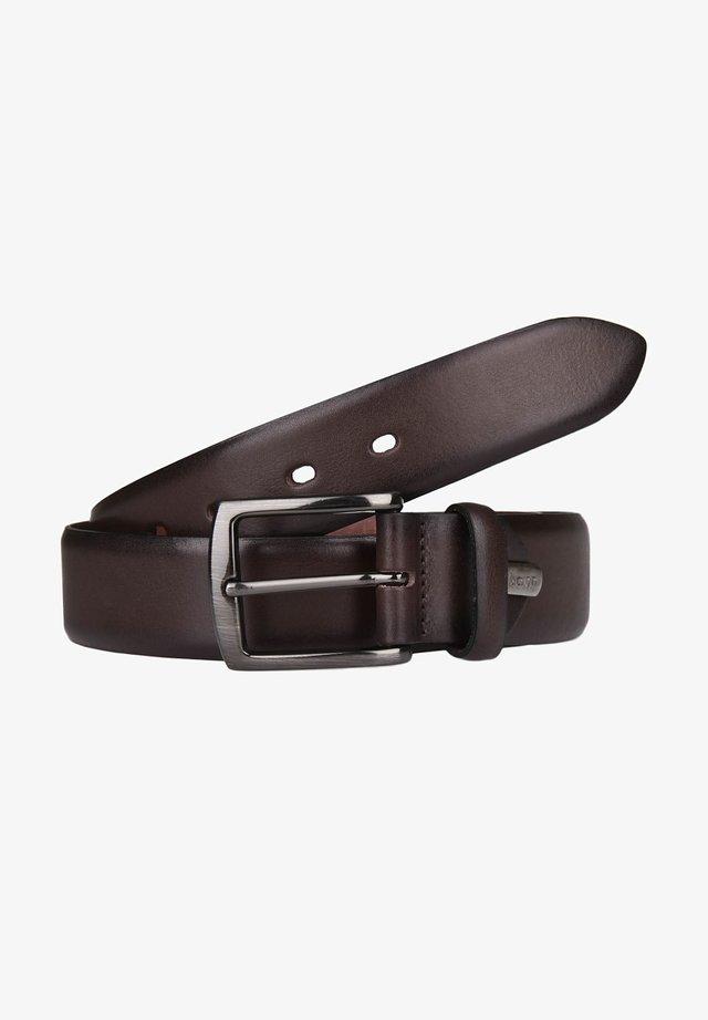 Belt business - dark brown