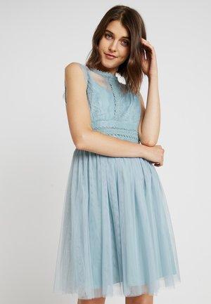 Koktejlové šaty/ šaty na párty - blue haze