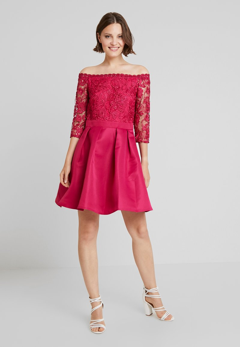 Little Mistress - Cocktail dress / Party dress - hot pink