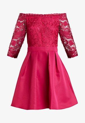 Robe de soirée - hot pink
