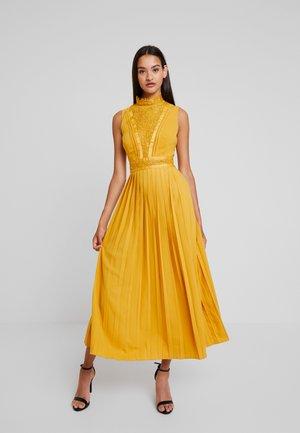 PENELOPE SPICE GOLD LACE - Společenské šaty - spice gold