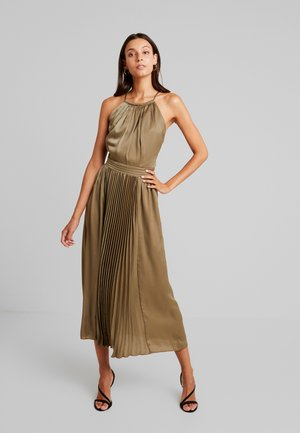 LAURIE HALTER DRESS - Cocktailjurk - khaki