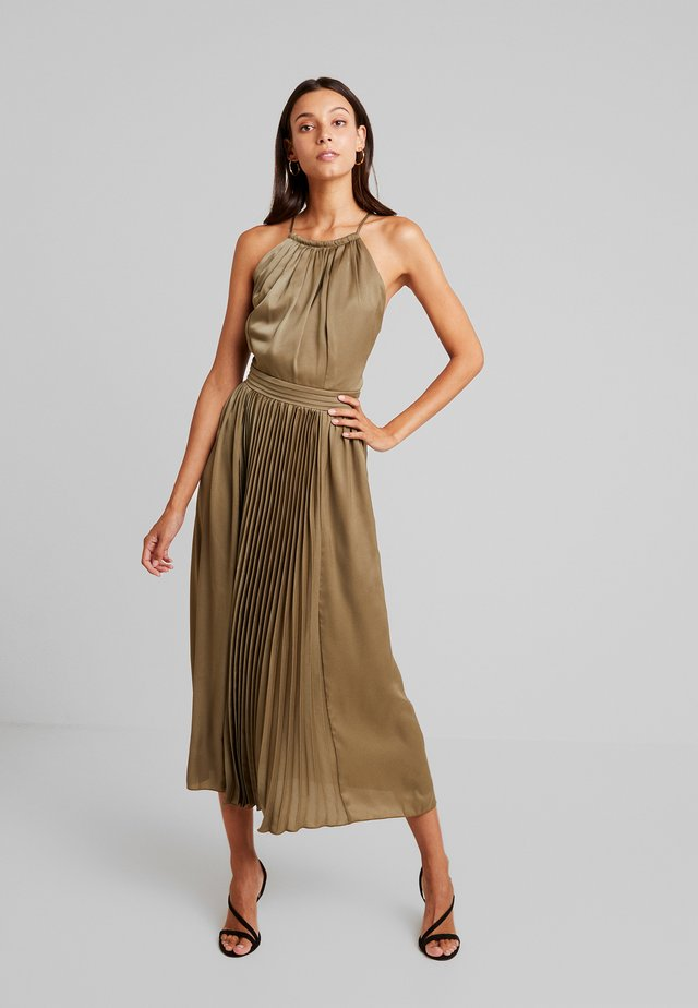 LAURIE HALTER DRESS - Cocktailkleid/festliches Kleid - khaki
