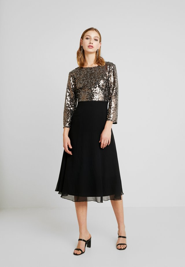MIDI - Cocktail dress / Party dress - copper