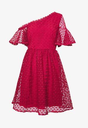 MINI CROCHET - Denní šaty - marsala