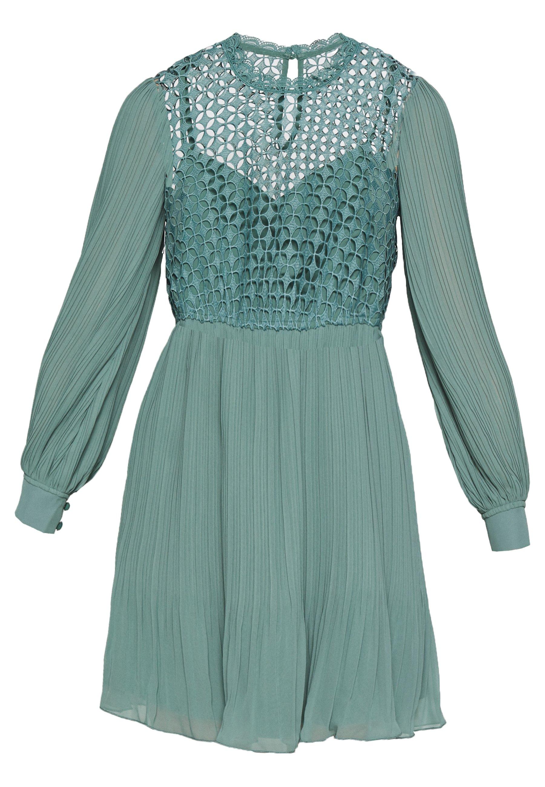 Little Mistress Mini Crochet - Kjole Nile Blue