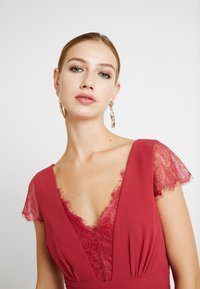 Little Mistress - BIANCA TRIM DRESS - Vestido de fiesta - raspberry - 3