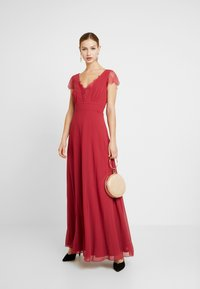 Little Mistress - BIANCA TRIM DRESS - Vestido de fiesta - raspberry - 1