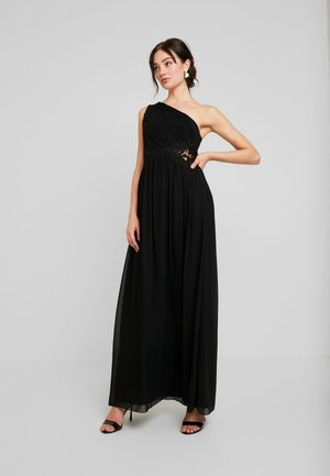 NADJA ONE SHOULDER MAXI DRESS - Abito da sera - black