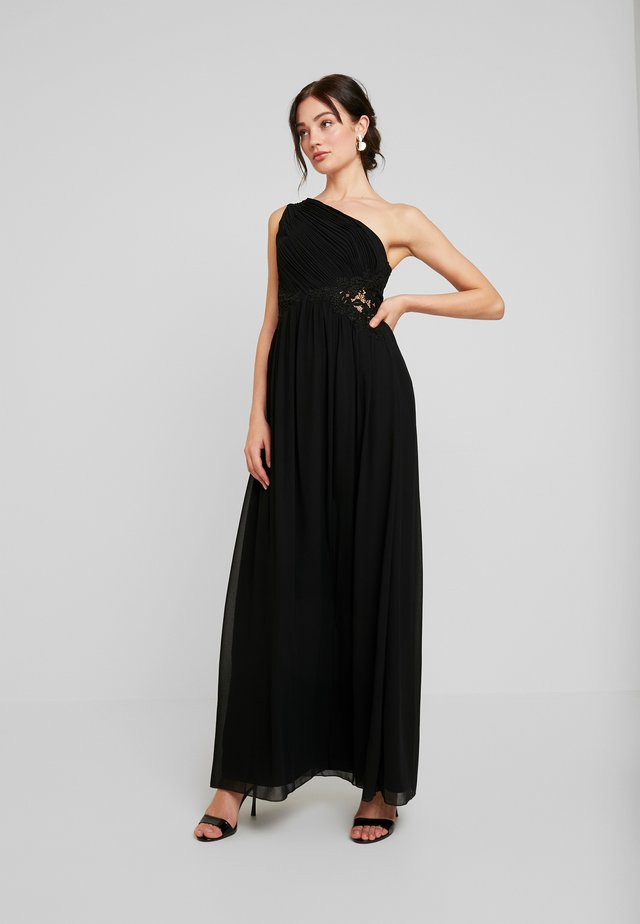 NADJA ONE SHOULDER MAXI DRESS - Iltapuku - black