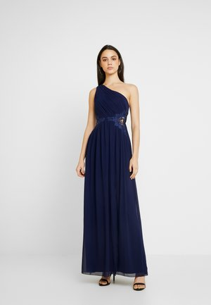NADJA ONE SHOULDER DRESS - Galajurk - navy