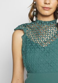 Little Mistress - MIDAXI CROCHET - Cocktailjurk - nile blue