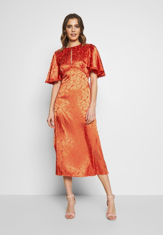 MIDAXI - Denní šaty - salsa
