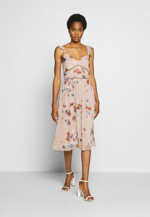 MIDI PRINT - Cocktailjurk - multi
