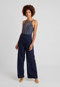 Little Mistress - Overall / Jumpsuit /Buksedragter - navy - 0