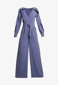 Little Mistress - ANAÏS LAVENDER COLD SHOULDER - Overall / Jumpsuit /Buksedragter - lavender grey - 4