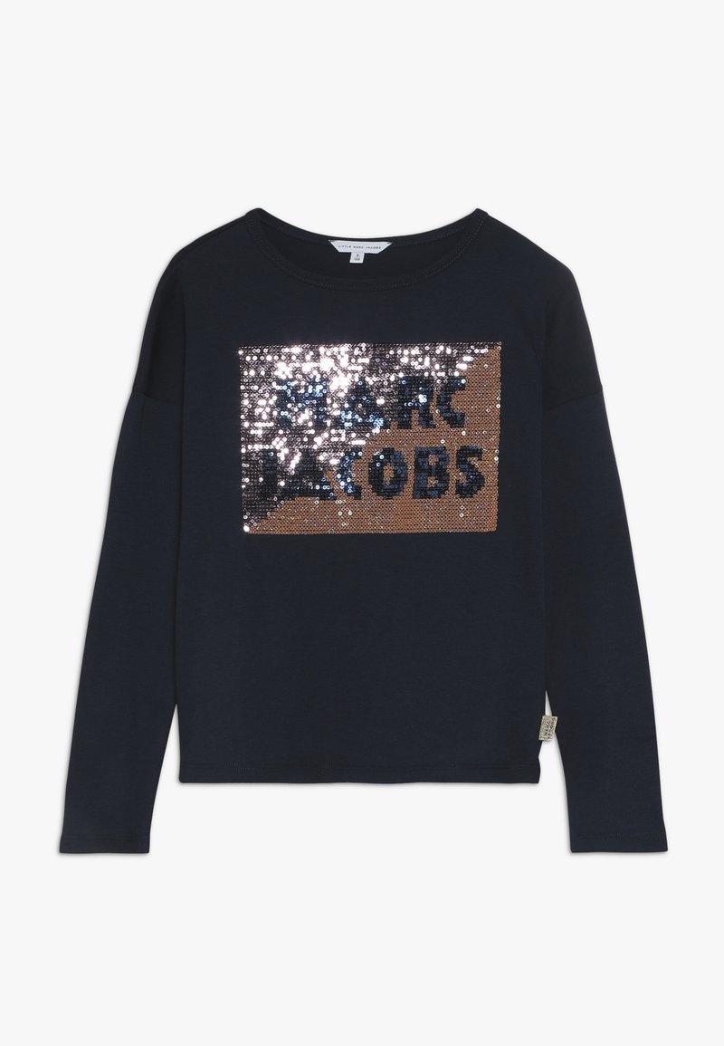 Little Marc Jacobs - Maglietta a manica lunga - marine