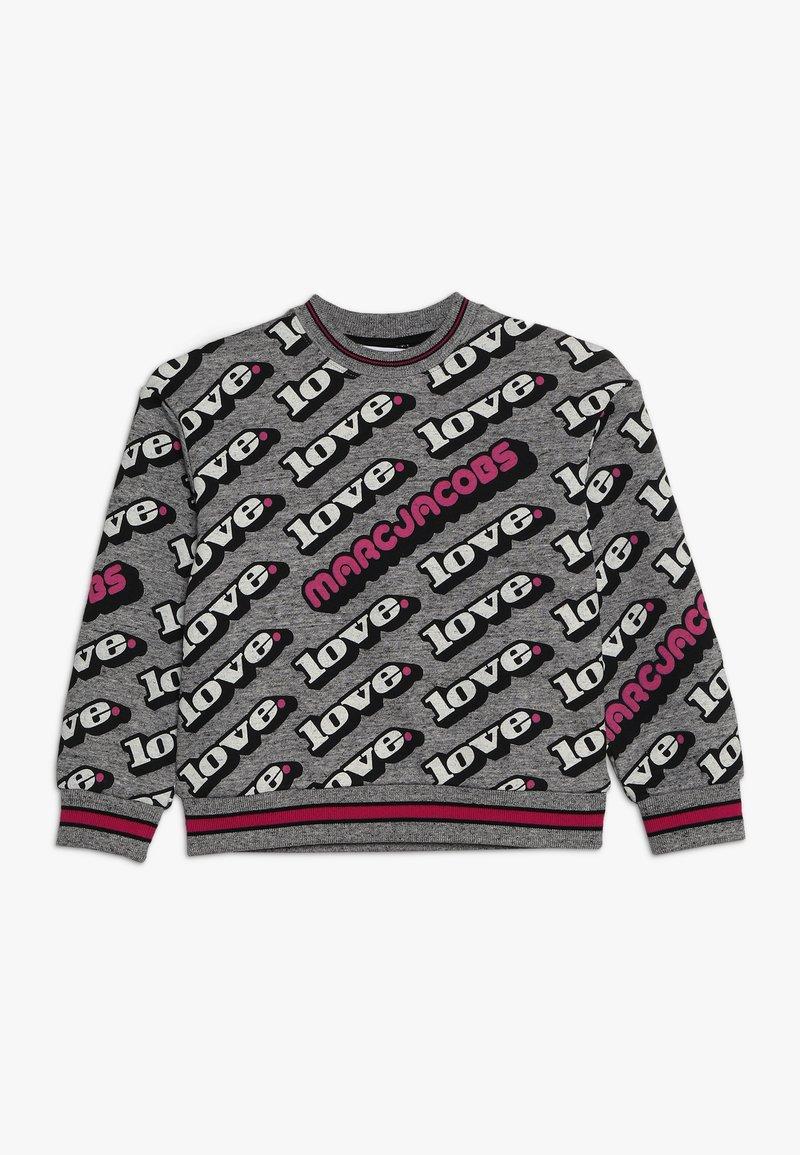 Little Marc Jacobs - Sweatshirt - grau/rosa
