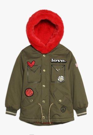 Zimní kabát - kaki