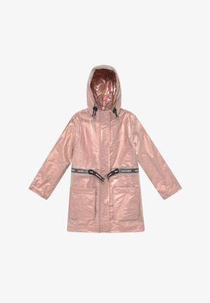 RAIN COAT - Waterproof jacket - pink copper