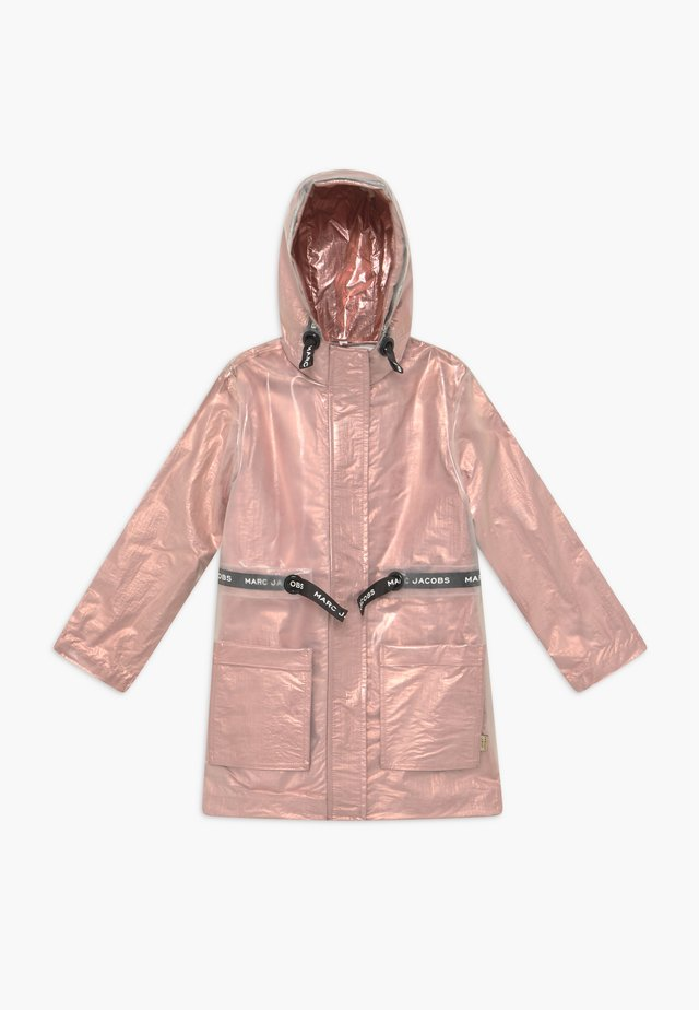 RAIN COAT - Regnjakke - pink copper