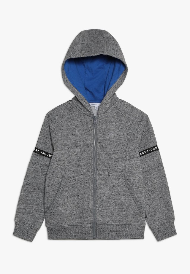 veste en sweat zippée - grau