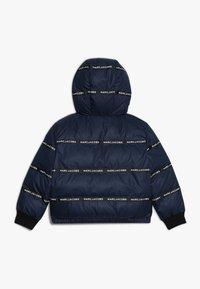 Little Marc Jacobs - UMKEHRBAR - Veste d'hiver - marine/hellblau - 1