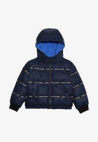 Little Marc Jacobs - UMKEHRBAR - Veste d'hiver - marine/hellblau - 4