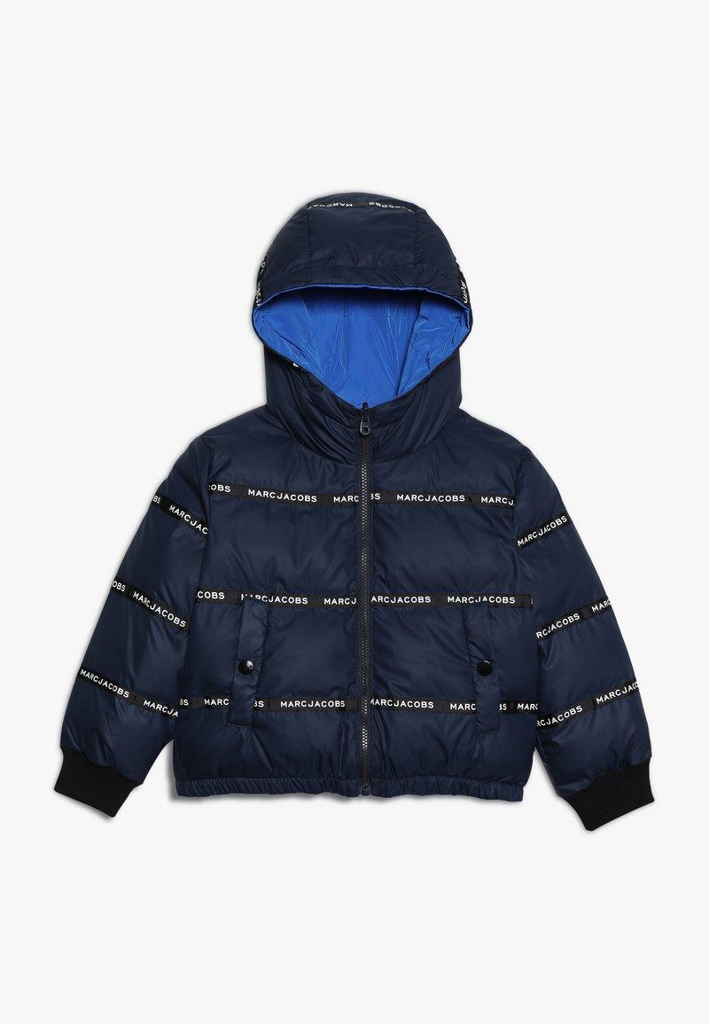 Little Marc Jacobs - UMKEHRBAR - Veste d'hiver - marine/hellblau