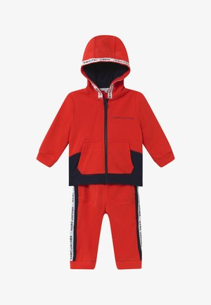 BABY - Træningssæt - red/blue navy