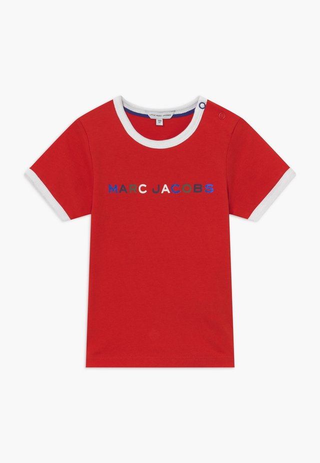 BABY - T-shirt med print - bright red