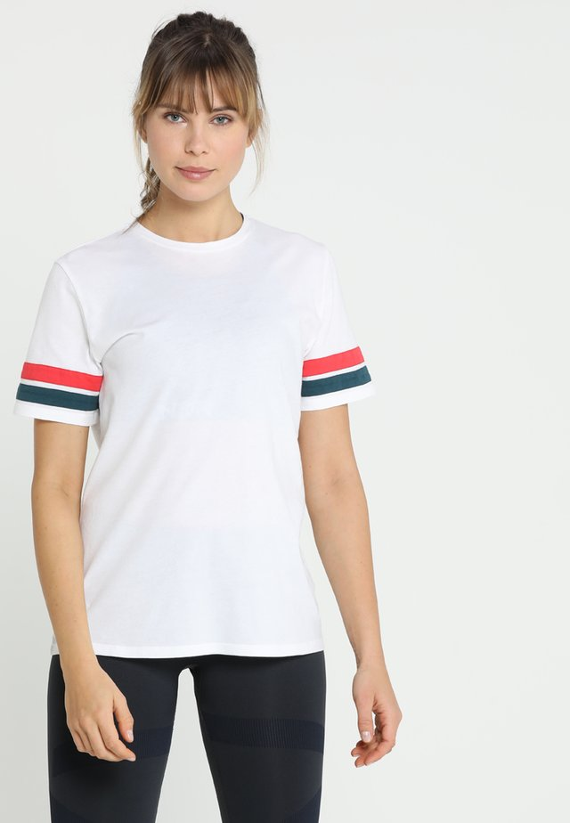 STRIPE TEE - T-shirt print - white