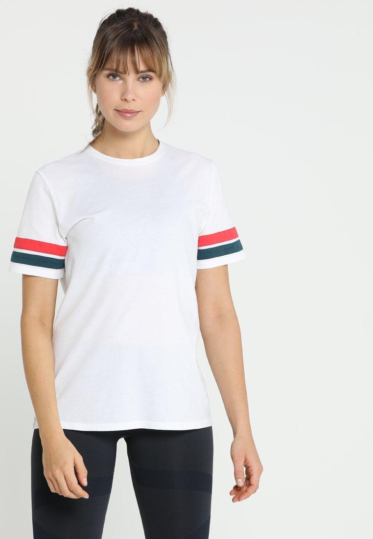 LNDR - STRIPE TEE - T-shirts med print - white