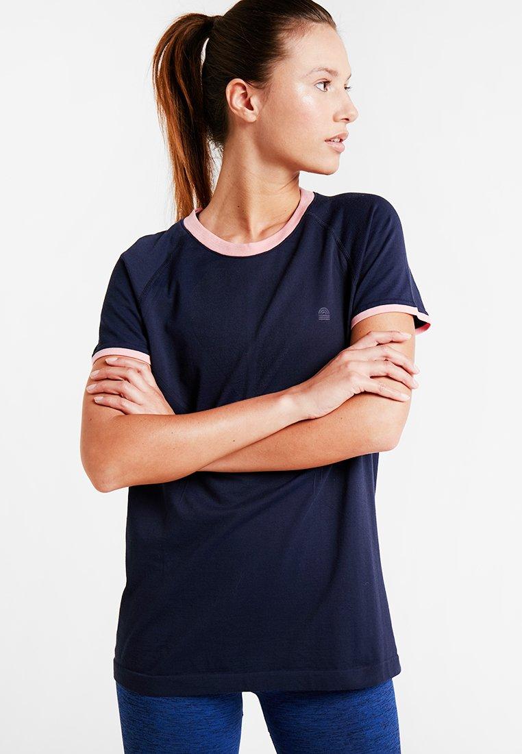 LNDR - CIRQUE TECH TEE - Camiseta básica - navy