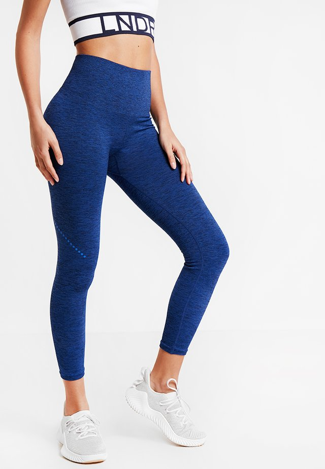 BLACKOUT LEGGING - Tights - cobalt marl