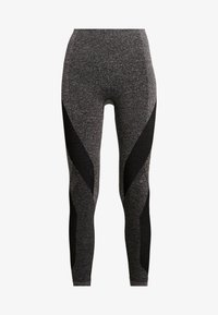 LNDR - LAUNCH LEGGING - Punčochy - dark grey marl - 4