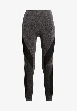LAUNCH LEGGING - Tights - dark grey marl