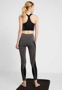 LNDR - LAUNCH LEGGING - Punčochy - dark grey marl - 2